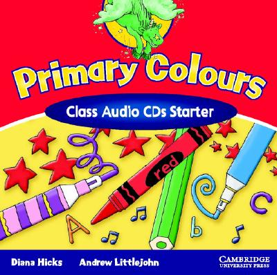 Image for Primary Colours Class Audio CDs Starter