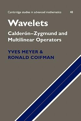 Wavelets: Calder�n-Zygmund and Multilinear Operators (Cambridge Studies in Advanced Mathematics), Meyer, Yves; Coifman, Ronald