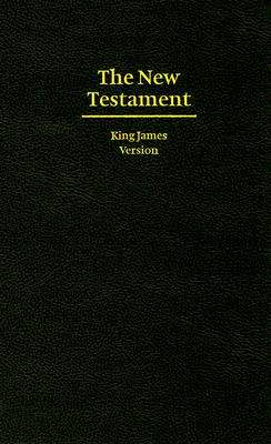 Image for KJV Giant Print New Testament Black Hardcover KJ481N