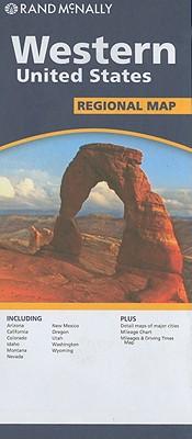 Image for Folded Map: Western United States