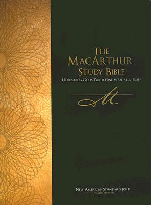 Image for NASB MacArthur Study Bible (Black, Thumb-Indexed)