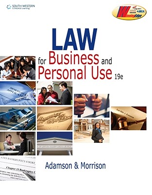 Image for Law for Business and Personal Use (DECA)