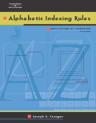 Image for Alphabetic Indexing Rules: Application by Computer
