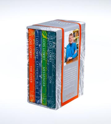 Image for The Giver Quartet 20th Anniversary boxed set  **SIGNED 4X + Photos**    [The Giver, Gathering Blue, Messenger, Son]