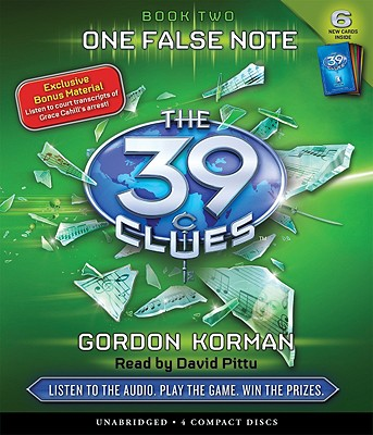 Image for One False Note (The 39 Clues, Book 2)  - Audio