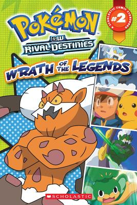 "Pokemon Comic Reader #2: Wrath of the Legends (Pokémon Comic Readers), ""Whitehill, Simcha """