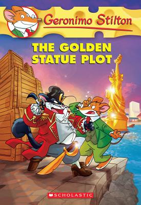 Image for Geronimo Stilton #55: The Golden Statue Plot