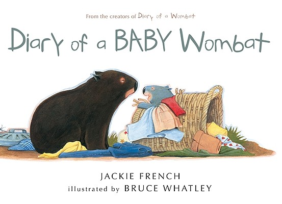 """Diary of a BABY Wombat, """"French, Jackie"""""""