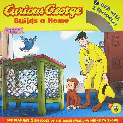 "Curious George Builds a Home Book and DVD, ""Rey, H. A."""