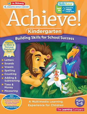 Achieve!: Kindergarten: Building Skills for School Success, The Learning Company