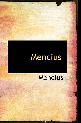 Mencius, Mencius