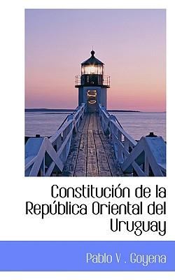 Image for Constitución de la República Oriental del Uruguay