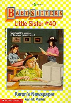 Image for Karen's Newspaper (Baby-Sitters Little Sister, No. 40)