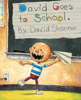 DAVID GOES TO SCHOOL, SHANNON, DAVID