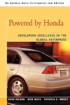 Image for Powered by Honda: Developing Excellence in the Global Enterprise
