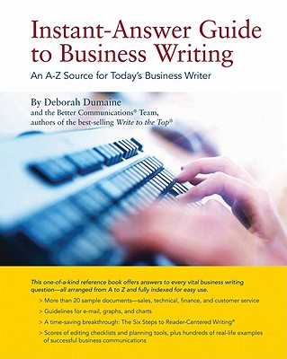 Image for Instant-Answer Guide to Business Writing