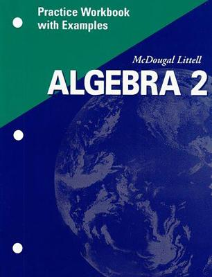Image for Algebra 2 Practice Workbook with Examples