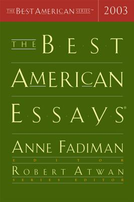 Image for BEST AMERICAN ESSAYS 2003