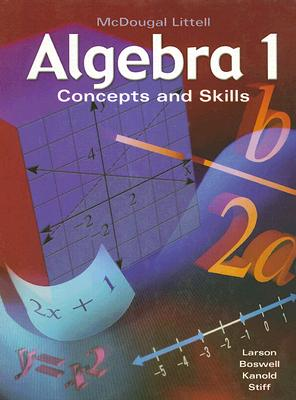 McDougal Littell Algebra 1: Concepts and Skills, MCDOUGAL LITTEL