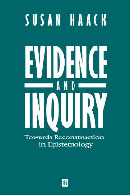 Image for Evidence and Inquiry: Towards Reconstruction in Epistemology