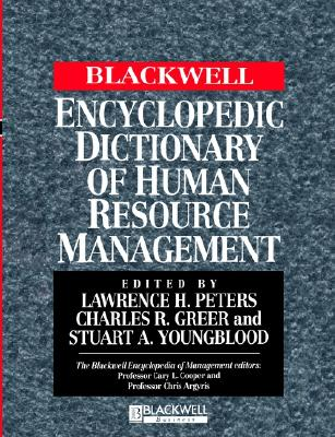 Image for The Blackwell Encyclopedia of Management and Encyclopedic Dictionaries, The Blackwell Encyclopedic Dictionary of Human Resource Management