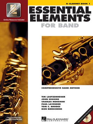 Image for Essential Elements 2000: Comprehensive Band Method: B Flat Clarinet Book 1