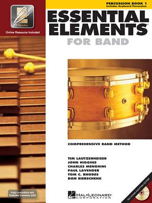 Image for Essential Elements 2000 (Percussion Book 1)(Spiral Bound)