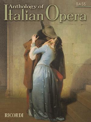 Image for Anthology of Italian Opera (Bass)