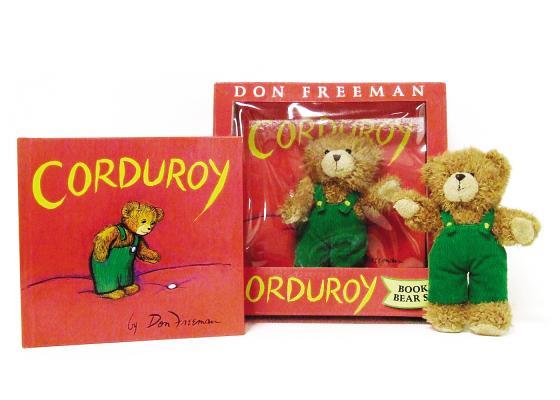 Corduroy Book and Bear, Freeman, Don