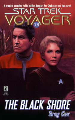 Image for The Black Shore (Star Trek Voyager, No 13)