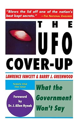 Image for The UFO Cover-Up : What the Government Won't Say ( Formerly Titled:  Clear Intent )