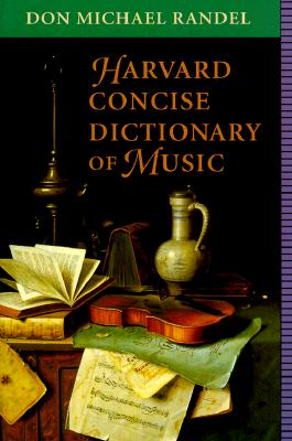 Image for Harvard Concise Dictionary of Music