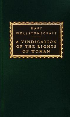 Vindication of the Rights of Woman, MARY WOLLSTONECRAFT
