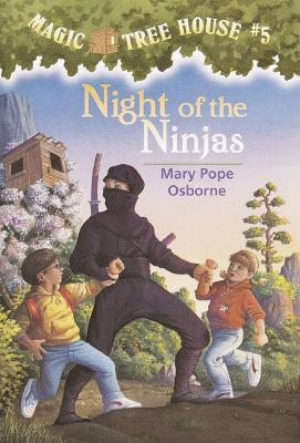 NIGHT OF THE NINJAS, Osborne, Mary Pope
