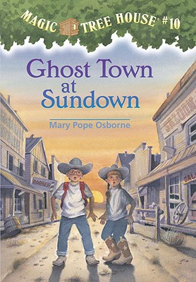 Image for Ghost Town at Sundown (Magic Tree House)