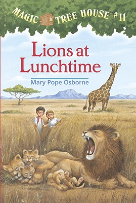 Image for Lions At Lunchtime (Magic Tree House 11, paper)