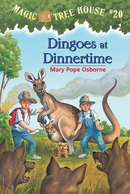 Image for Dingoes at Dinnertime (Magic Tree House, No. 20)