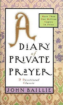 Image for A Diary of Private Prayer