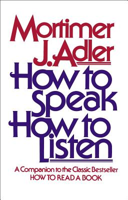 Image for How to Speak How to Listen
