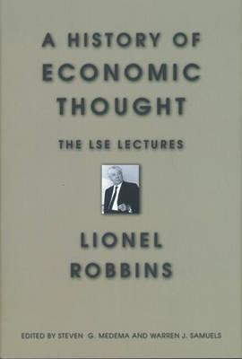 Image for A History of Economic Thought