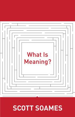 Image for What Is Meaning? (Soochow University Lectures in Philosophy)