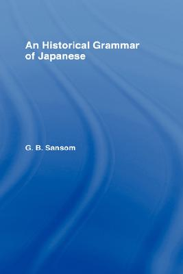 Image for Historical Grammar of Japanese