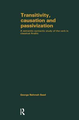 Image for Transivity Causatn & Passivizatn (Library of Arabic Linguistics)