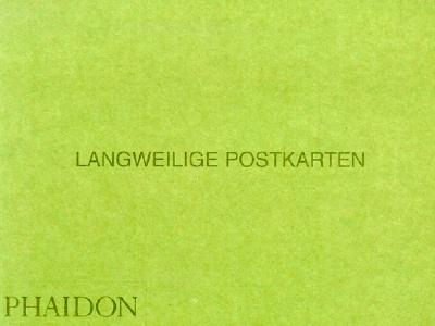 Image for Langweilige Postkarten (PHOTOGRAPHY)