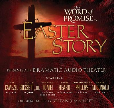 The Easter Story: The Word of Promise, NKJV on Audio CD, Thomas Nelson; Jim Caviezel; Louis Gossett, Jr.; Marisa Tomei; John Heard; Lou Diamond Phillips; Chris McDonald; Stefano Mainetti