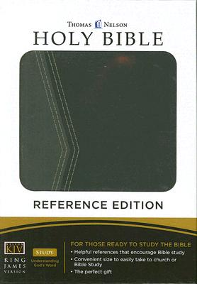 Image for THe Holy Bible: Reference Bible (Green/Black Leather)