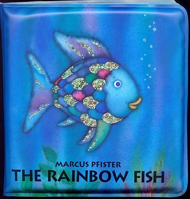 RAINBOW FISH BATH BOOK, PFISTER, MARCUS