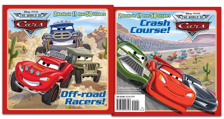 Image for Off-road Racers! / Crash Course! (The World of Cars)