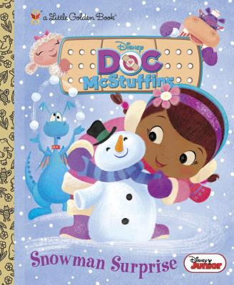 Image for Snowman Surprise (Disney Junior: Doc McStuffins) (Little Golden Book)