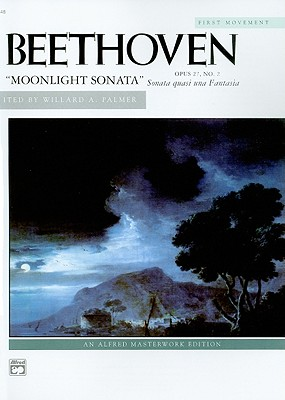 Moonlight Sonata, Op. 27, No. 2 (1st Movement) (Alfred Masterwork), Beethoven, Ludwig van
